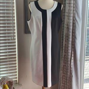 DKNY Colorblocked Sheath Dress NWT